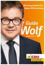 Landtagswahl Baden-Württemberg 2016 – Guido Wolf CDU