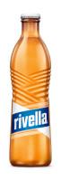 Neue 33cl Glasflasche von Rivella Blau