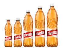 Alle Größen der neuen Flasche von Rivella