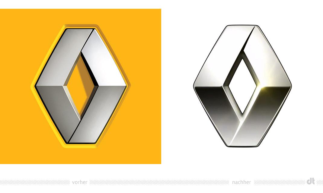 Renault Diamant – vorher und nachher – Design Tagebuch