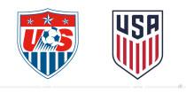 US Soccer Logo – vorher und nachher