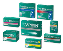Aspirin Verpackungsdesign