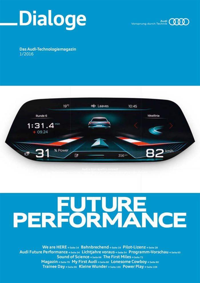 Audi Dialoge Magazin
