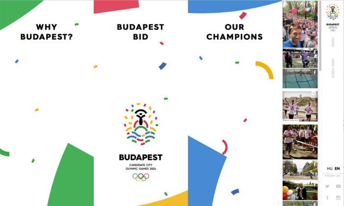Budapest 2024 Website