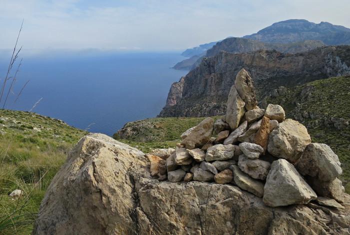 Blick in Richtung Punta de sa Foradada