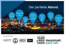 Saarbrücken Corporate Design – Postkarte