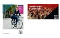 Saarbrücken Corporate Design – Postkarten/Einladungskarten