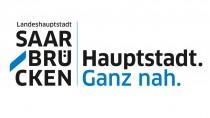 """Landeshauptstadt Saarbrücken – Kampagnenlogo – """"Hauptstadt ganz nah"""""""