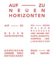 Globetrotter Typographie