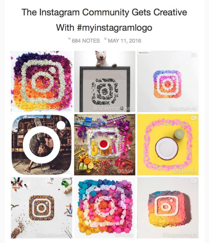 #myinstagramlogo