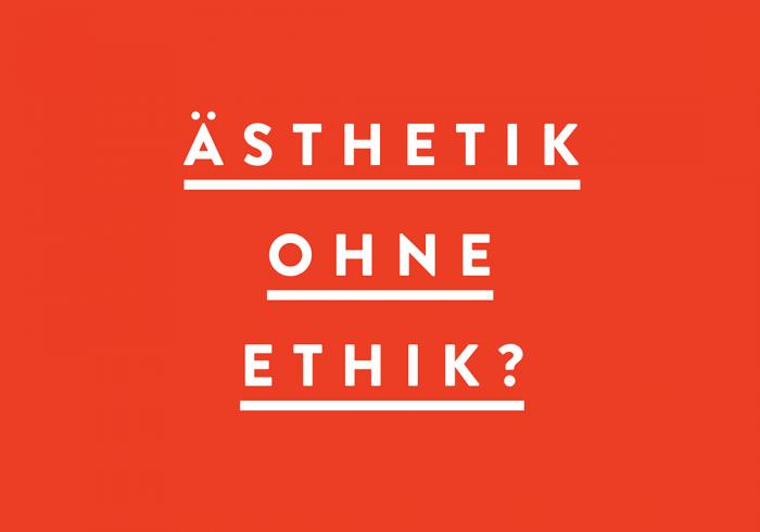 Ästhetik ohne Ethik? – Vorstellung einer Masterthesis