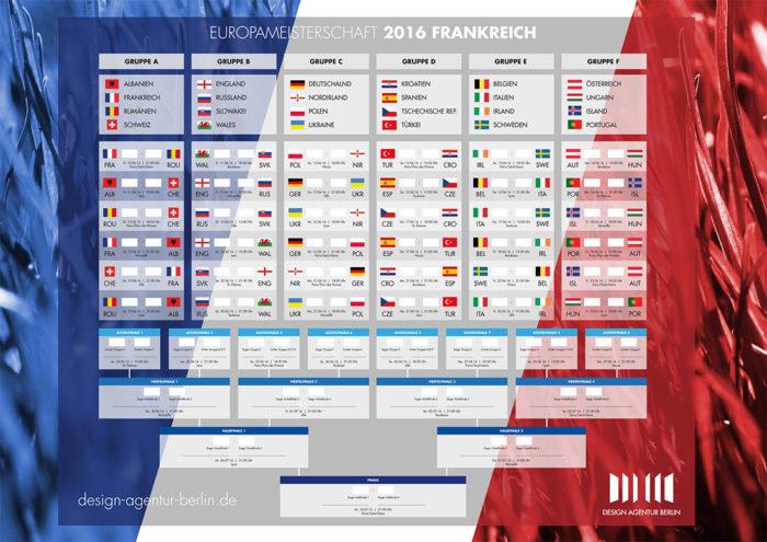 UEFA EURO 2016 Design Agentur Berlin