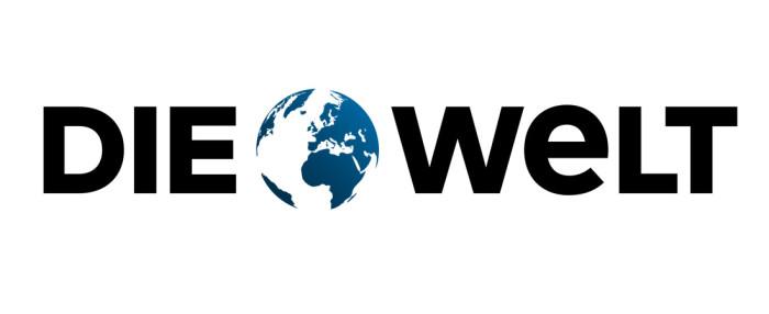 DIE WELT Logo, Quelle: Axel Springer