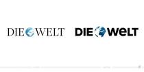 DIE WELT Logo – vorher und nachher