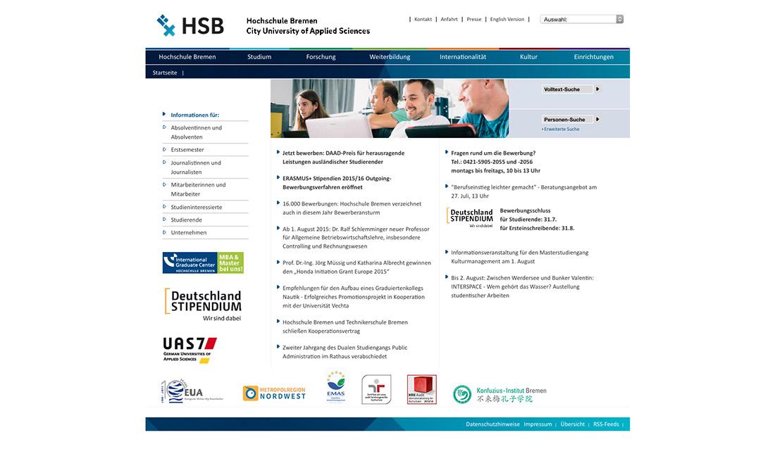 full size groansicht 1100 638px vorhergehendes bild nchstes bild hochschule bremen website - Hochschule Bremen Bewerbung