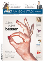 Welt am Sonntag Titelseite, Quelle: Axel Springer