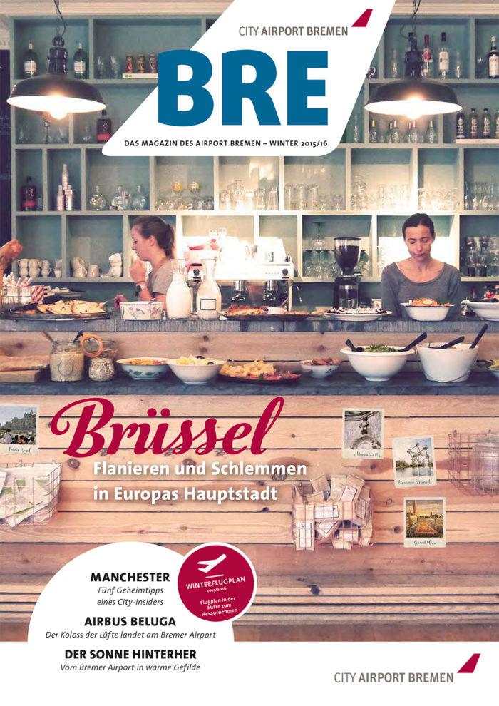 Airport Bremen Flughafenmagazin 2015, Quelle: Bremen Airport