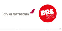 Bremen Airport Logo – vorher und nachher