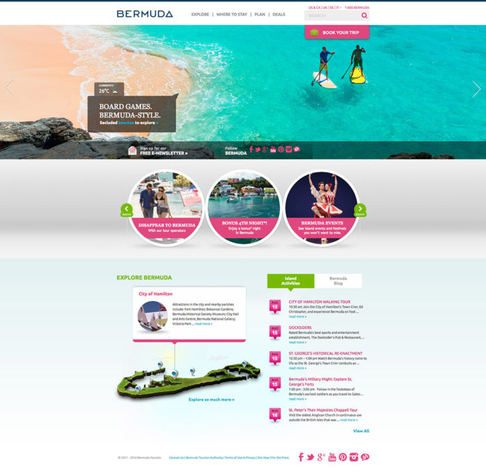 Bermuda Website