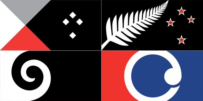Flagge Neuseeland Design