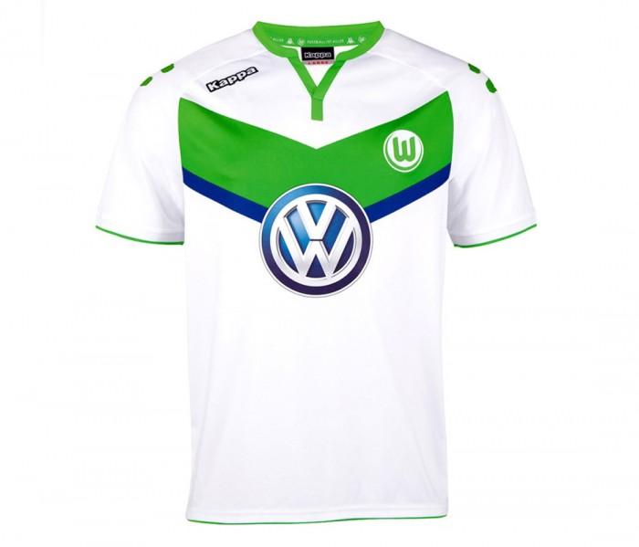 Heimtrikot 2015/2016 VfL Wolfsburg