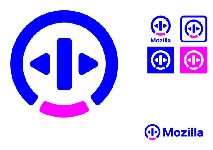 Mozilla Concept Logo – Open Button