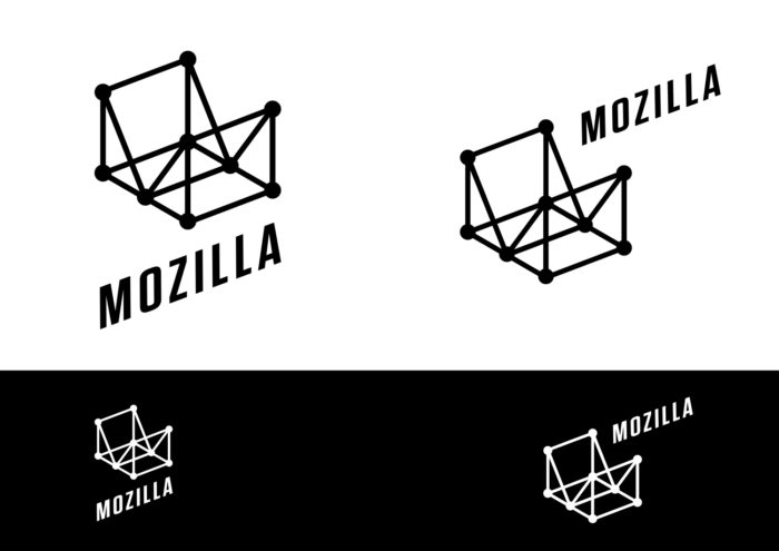 Mozilla Concept Logo – Wireframe World