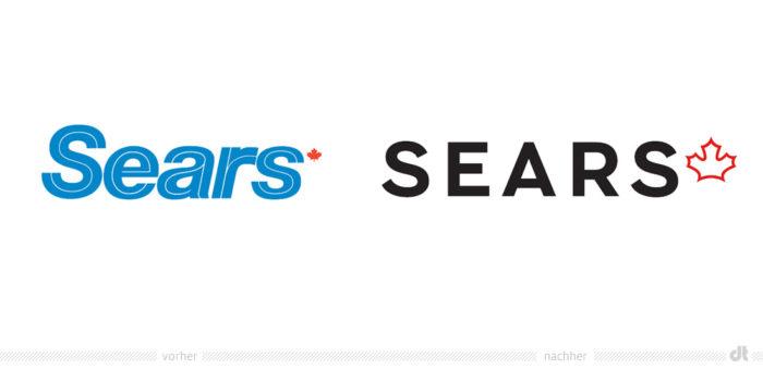 Sears Canada Logo – vorher und nachher