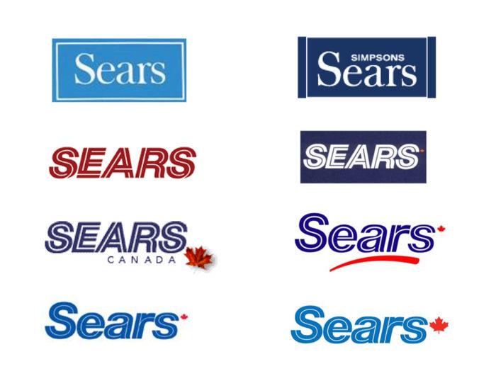 Sears Canada Logos (seit 1973)