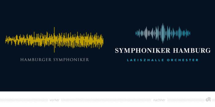 Symphoniker Hamburg Logo – vorher und nachher