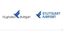 Flughafen Stuttgart Logo – vorher und nachher