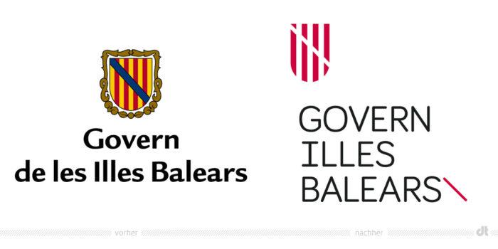 Govern de les Illes Balears Logos
