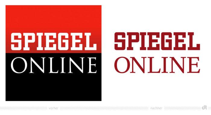 SPIEGEL ONLINE Logo – vorher und nachher