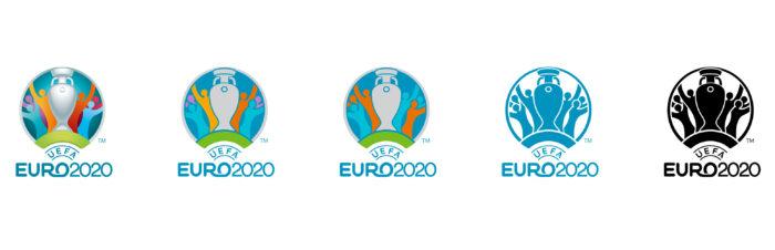UEFA EURO 2020 Logo Versions