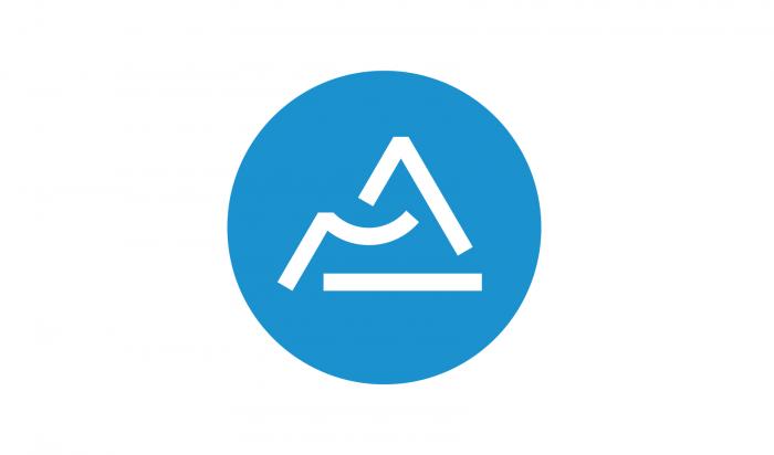 Das Logo für die neue Region Auvergne-Rhône-Alpes