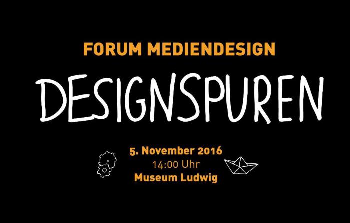 Forum Mediendesign 2016 – Designspuren