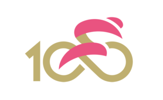 Giro d'Italia 100 Jahre Logo