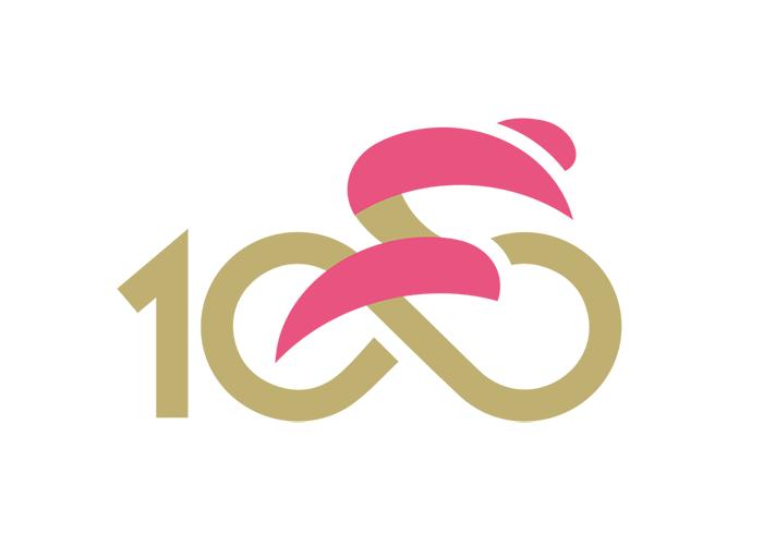 Giro d'Italia: Jubiläumslogo zum 100.