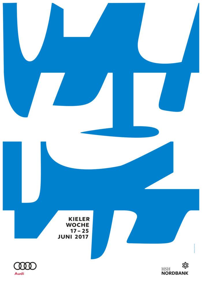 Plakat der Kieler Woche 2017