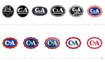 C&A Logo-Evolution
