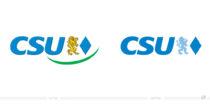 CSU Logo – vorher und nachher