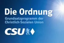 CSU Grundsatzprogramm
