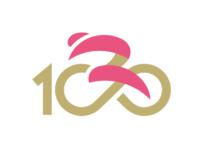 gespiegeltes Logo Giro 100 (nicht offiziell)