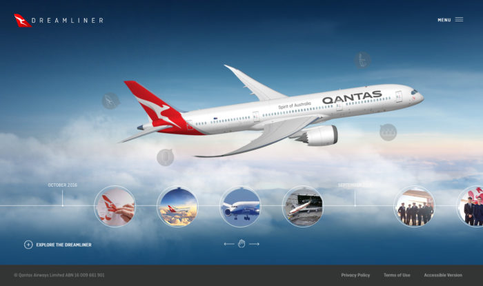 Webspecial – Introducing the Qantas Dreamliner