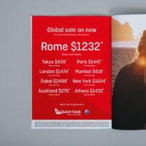 Qantas Print