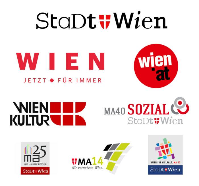 Stadt Wien und seine Logos