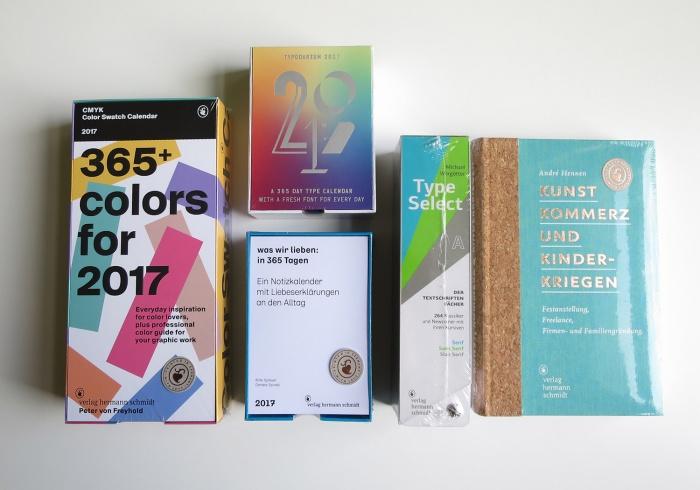 Das Beste zum Schluss. Buch, Kalender und Schriftenfächer für umme