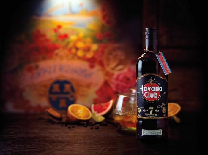 Havana Club 7 Años.