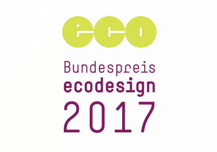 Bundespreis Ecodesign 2017 ausgeschrieben