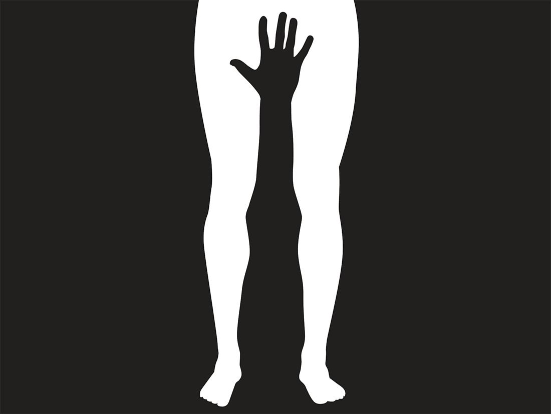 """Illustration """"Auf Armlänge"""", Quelle: Süddeutsche Zeitung"""